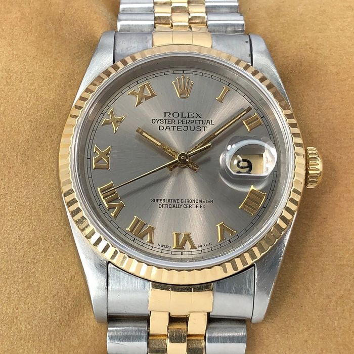Rolex - Datejust Bronze Dial - 16233 - Men - 1980-1989