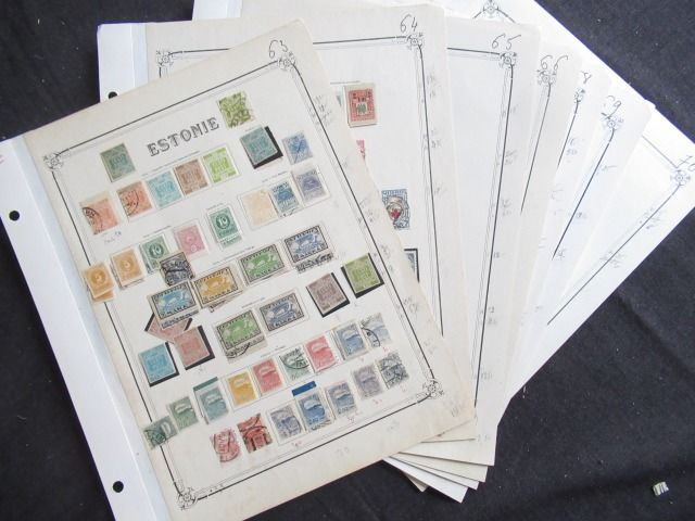 Estonia 1919/1940 - Collection of stamps