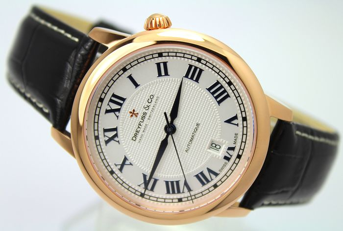 Dreyfuss & Co. - ' NO RESERVE PRICE' Automatic Swiss Hand Made - New & Boxed - Hombre - 2011 - actualidad