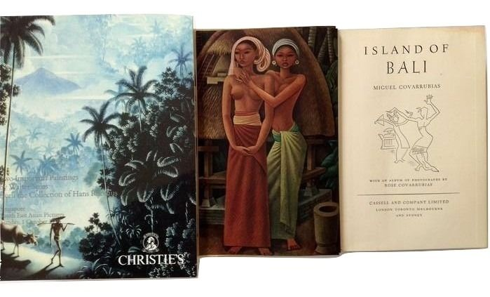 (Indonesia; Bali) Miguel Covarrubias / Walter Spies - Island of Bali / Christie's: Two important Paintings by Walter Spies - 1937 / 1995