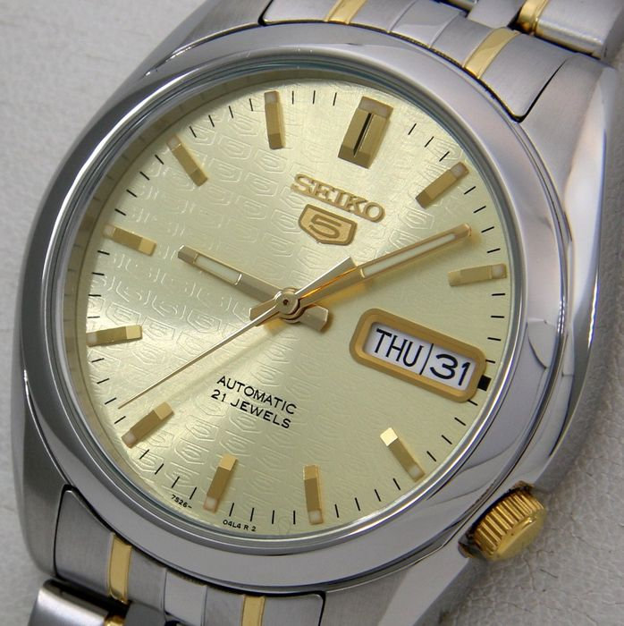 "Seiko - Automatic ""Gold Dial Five Edition"" - ""NO RESERVE PRICE"" - Unisex - 2018"
