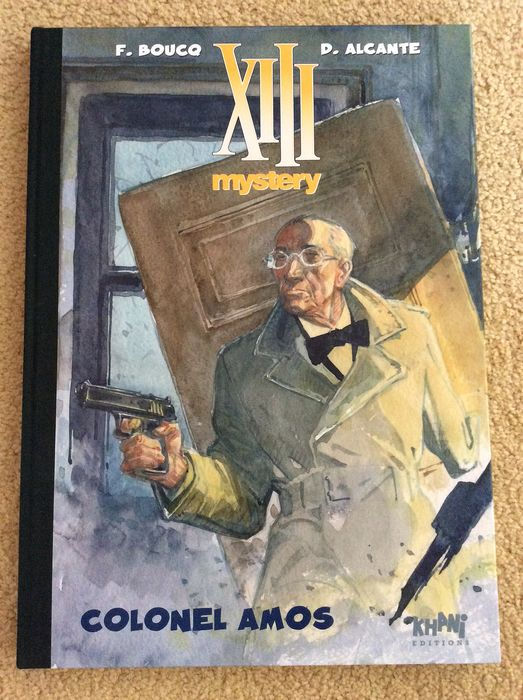 XIII Mystery T4 - Colonel Amos + ex-libris - C - TT - (2011)