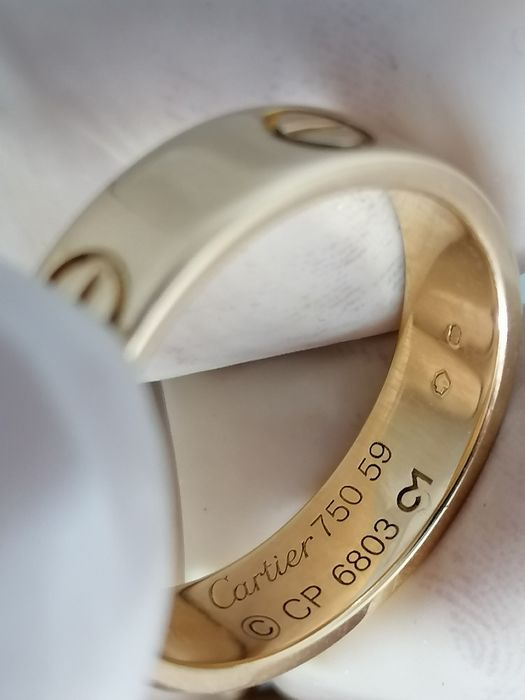 Cartier - 18 kt. Yellow gold - Ring