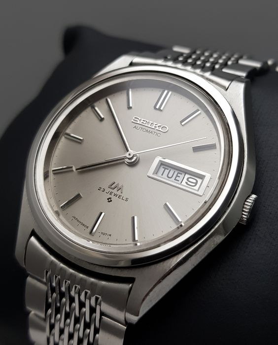 Seiko - 'NO RESERVE PRICE' Lord Matic  Automatic SLIM Vintage Men - 5606-7071 - Homme - 1970-1979