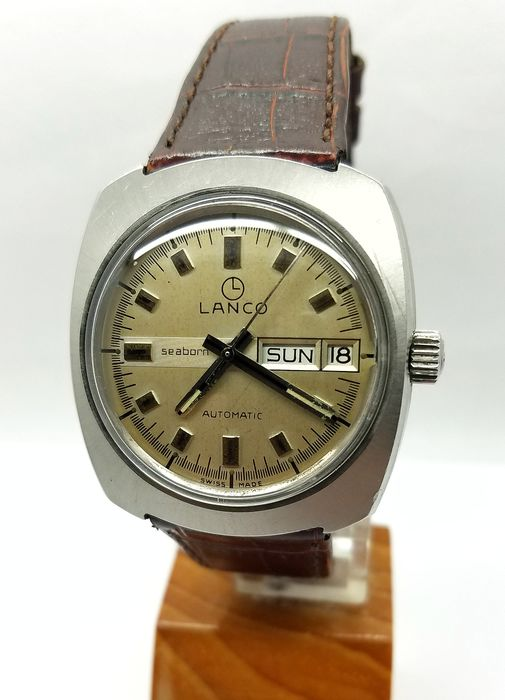 Lanco - Seaborn Day/Date - 3508 (Langendorf cal. 6148) - Men - 1960-1969