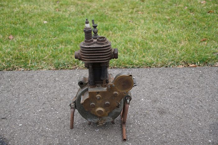 Engine / engine parts - Zurcher 250cc 1913 - Zurcher motor 250cc 1913 - 1913-1913