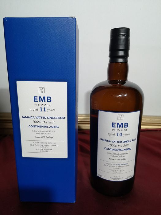 Monymusk 2004 14 years old Velier - EMB Plummer - continental aging - 70 cl