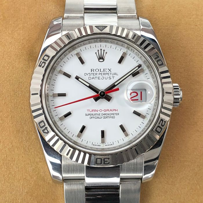 Rolex - Datejust Turn-O-Graph - 116264 - Men - 2000-2010