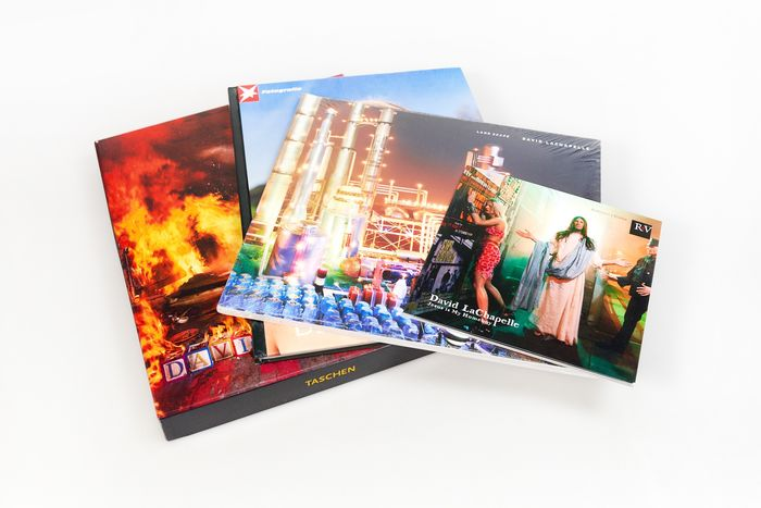 David LaChapelle - Lot with 4 books: Heaven to Hell, Jesus is my Homeboy, Landscape & Stern Portfolio - 2006/2014