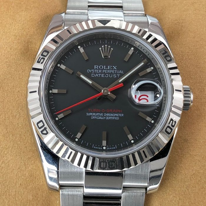 Rolex - Datejust Turn-O-Graph - 116264 - Homme - 2000-2010