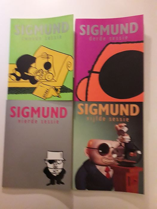 Sigmund - Sessie 2 t/m 24 en 4 extra's - Softcover - First edition - (1995/2013)