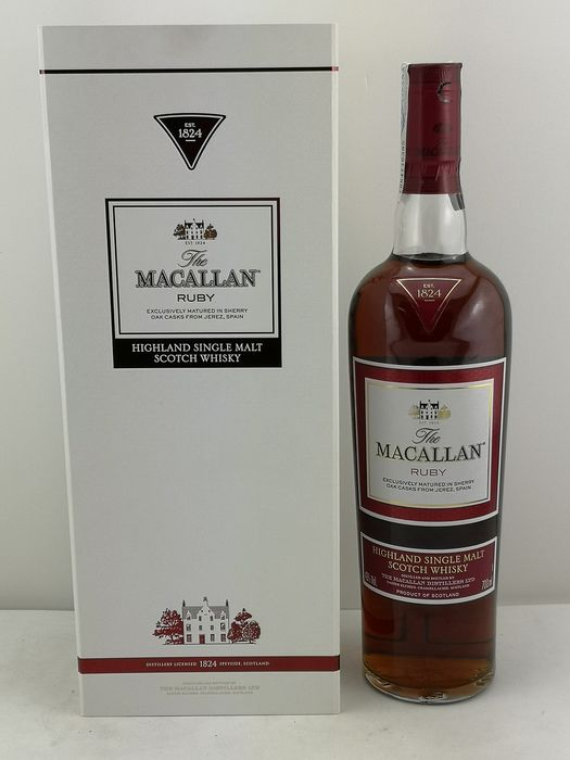 Macallan Ruby - Original bottling - 700ml