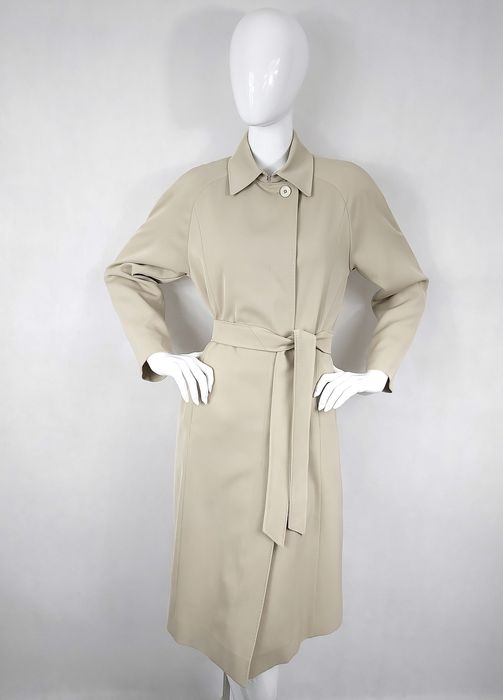 Max Mara - Trench Coat - Size: EU 40 (IT 44 - ES/FR 40 - DE/NL 38)