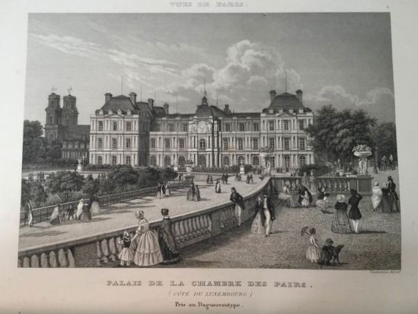 Chamouin - Panorama De Paris - 1860