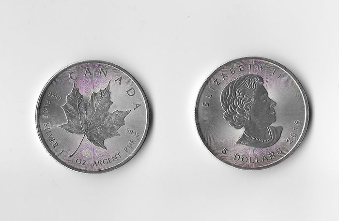 Canada - 5 Dollar 2016 & 2017 Maple Leaf - 2 x 1 Oz - Argent