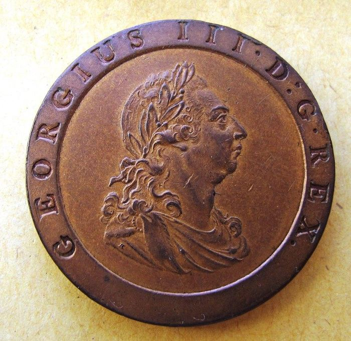 Great Britain - Penny 1797 George III - Copper