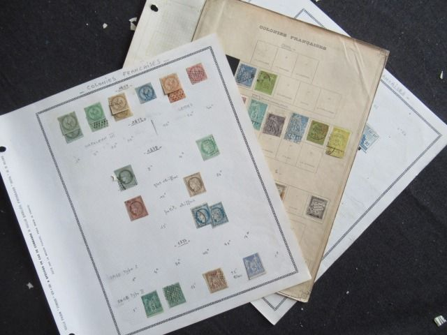 Old French colonies - General issue, collection of stamps