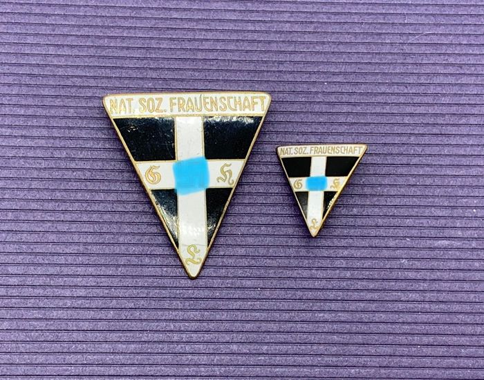 Germany - 2 Badge Frauenschaft Enamelled