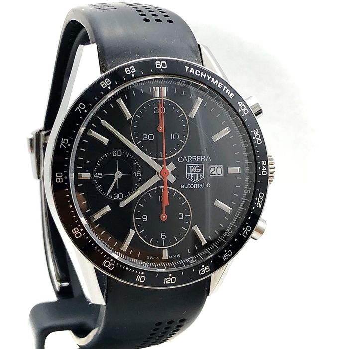 TAG Heuer - Carrera Chronograph Calibre 16 - Ref: CV2014-2 - No Reserve Price - Men - 2000-2010