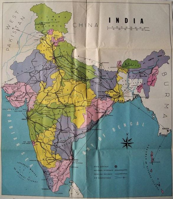 John Murray - Handbook for Travellers in India (etc) - 1965