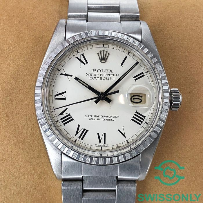 Rolex - Datejust White Buckley Dial - 16030 - Homme - 1970-1979