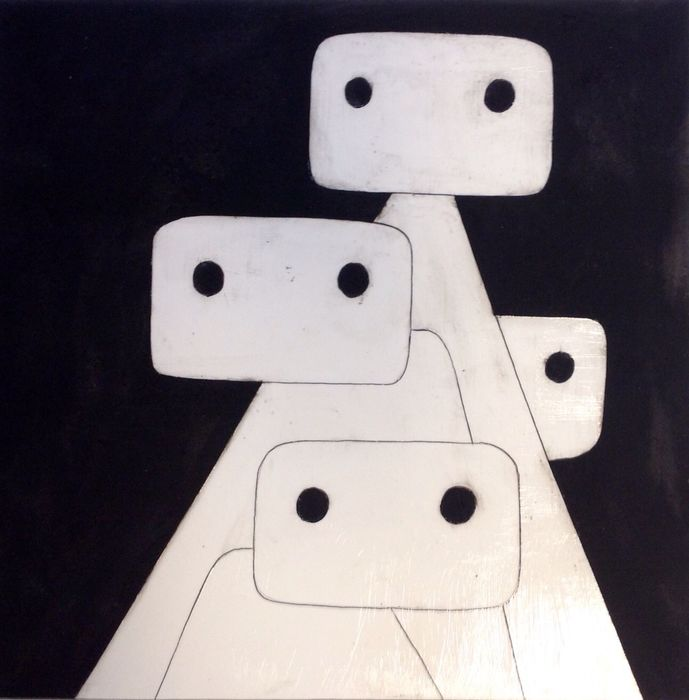 Paulus Noomen - Together/Samen 4 41x41 exclusive