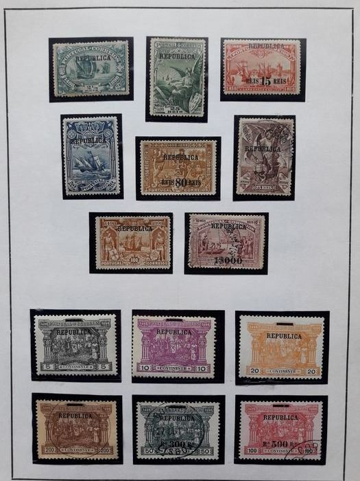 Portugal 1911/1923 - 5 Complete series of stamps - Mundifil