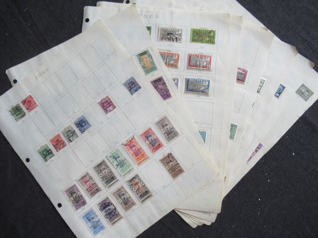 Alte französische Kolonien - Togo and Wallis and Futuna, advanced collection of stamps