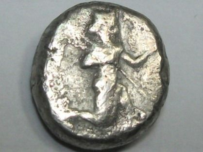 Greece (ancient) - Perse, Royaume Achéménide. Sicle AR, c. 485-420 av J-C)