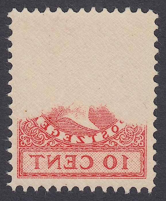 Países Bajos 1924 - Queen Wilhelmina type 'Veth', with mirror print - NVPH 153
