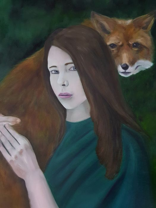 Manuel Cervera  - The girl and the fox