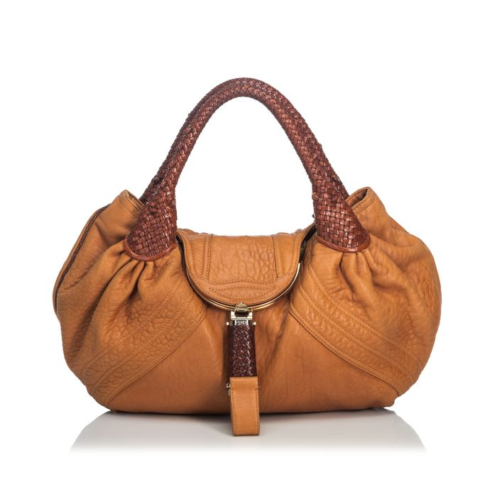 Fendi - Leather Spy Hobo Bag Hobo Tasche