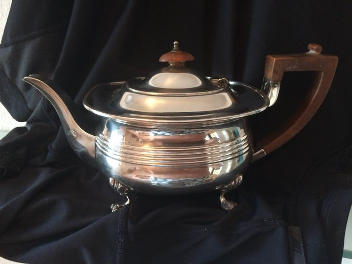 Teapot (1) - Art Deco - Silver plated