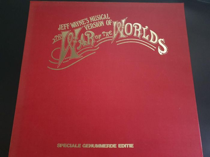 Jeff Wayne - Jeff Wayne's War Of The Worlds - Artwork/ Painting, Limited edition, LP Box set - 1978