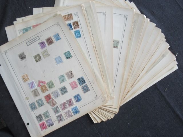 Europe - Portugal, Turkey, Egypt and Belgian Congo  collection of stamps