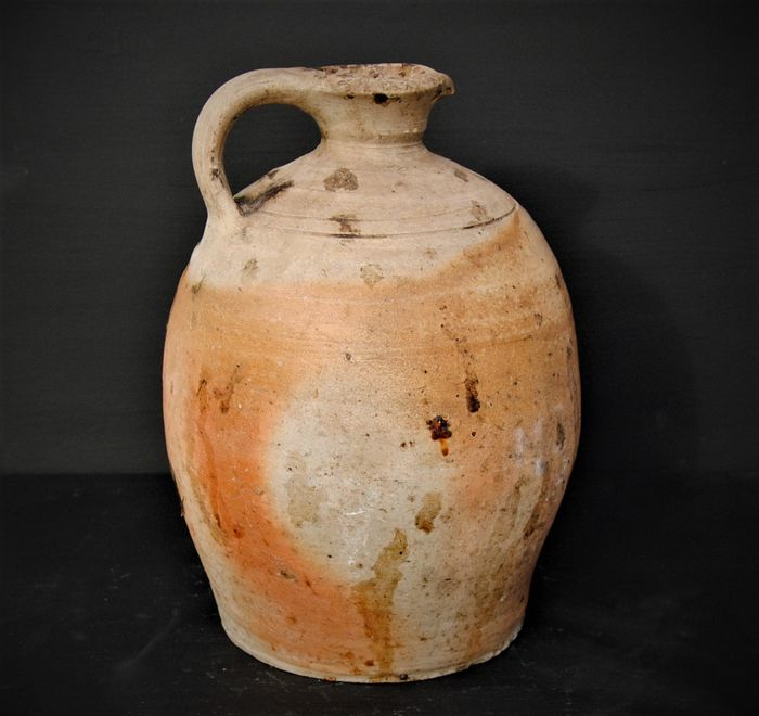 Wine jar French antiques - Earthenware