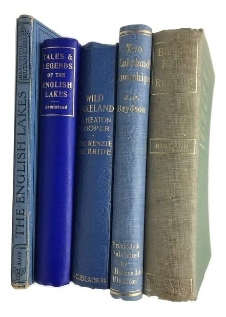 Various - Lot of 5 books about English Lakes - 1891/1922