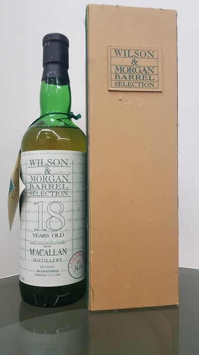 Macallan 1975 18 years old single cask no. 8880 - Wilson & Morgan - b. 1993 - 70cl