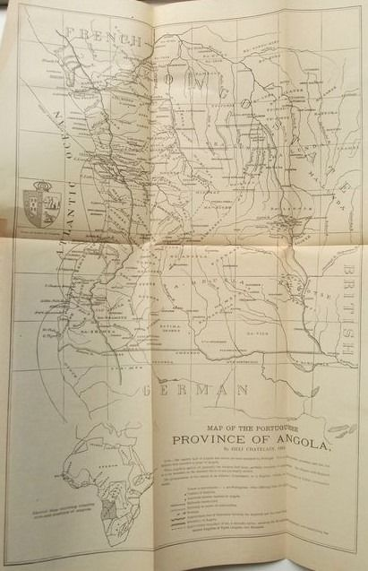 Héli Chatelain (editor) - Folk-Tales of Angola; with 2 foldable maps - 1894