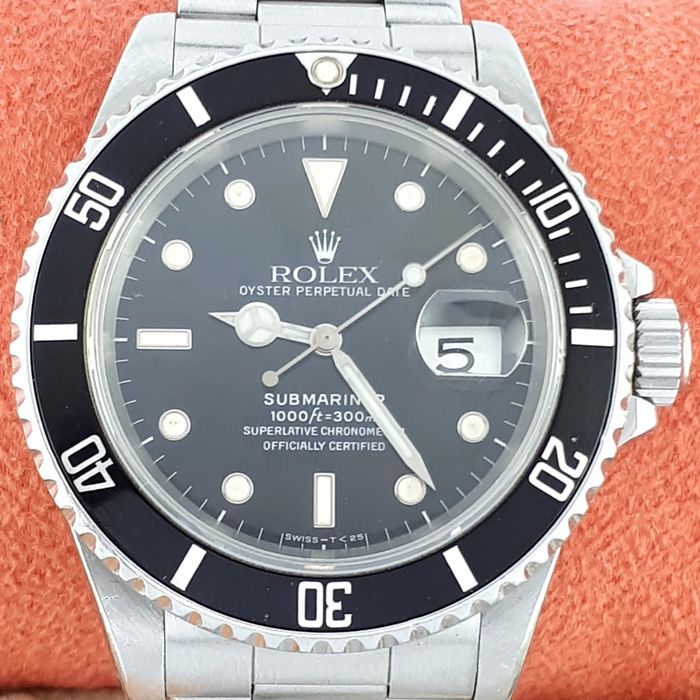 Rolex - Submariner with Date  - Ref: 16610 - Homme - 1980-1989
