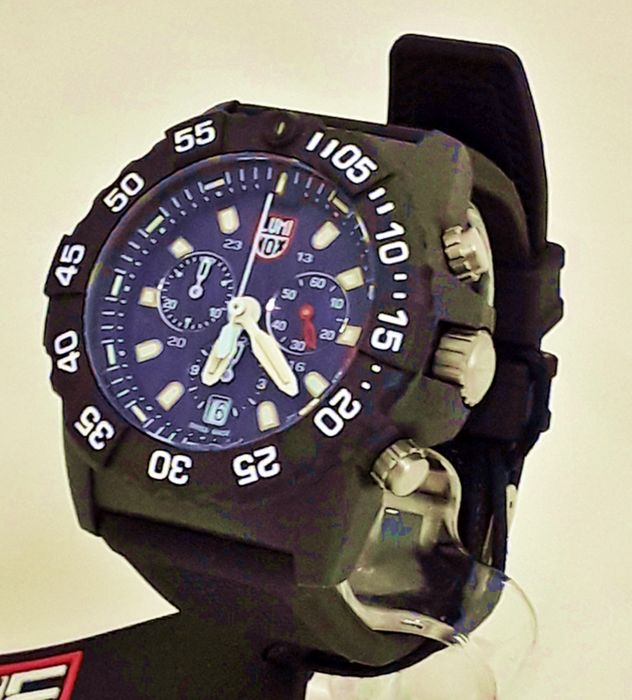 Luminox - Luminox Navy SEAL Chronograph - 3581 - Män - 2019
