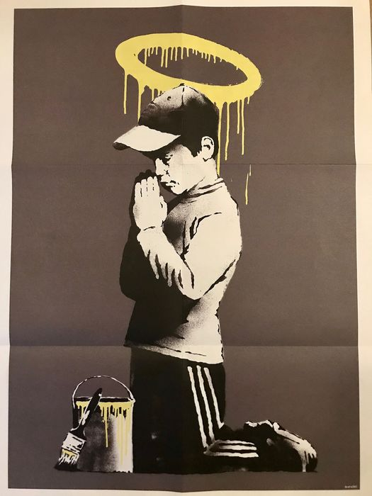 Banksy - Forgive Us Our Trespassing - Don't Panic Pack Full