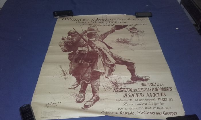 Frankreich - Armee/Infanterie - Poster - 1914