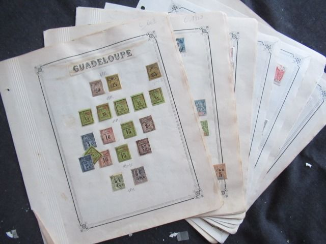 Guadeloupe 1884/1947 - Collection de timbres