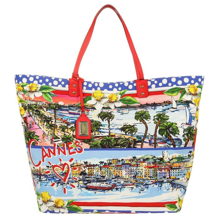 Dolce & Gabbana - Cannes Love Exclusive Designer Bag with 18K Gold and Leather + Original Bag Sleeve - New - Shopper bag