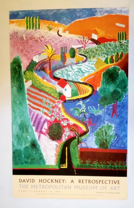 David Hockney - A Retrospective - 1988
