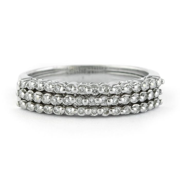 Other - 18 kt. White gold - Ring Diamond