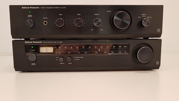 National Panasonic - SU-2300 - ST-2300 - Amplificateur stéréo, Ensemble stéréo, Tuner