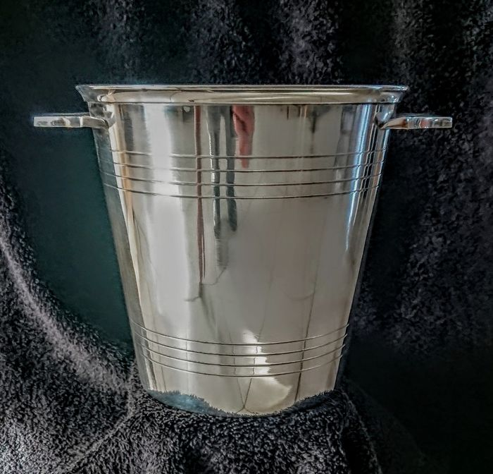 . - Bucket Champagne (1) - Art Deco - Silver plated