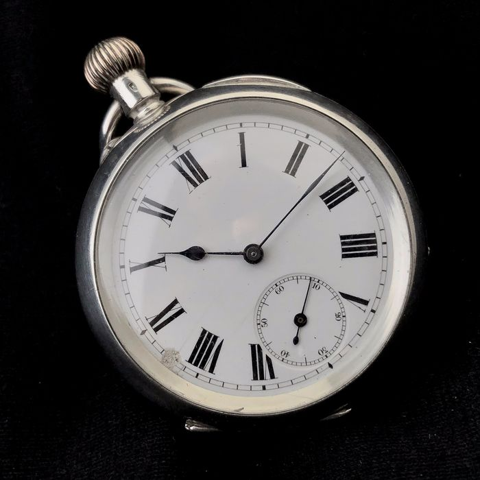 Kleyser & Co - Zilveren Zakhorloge NO RESERVE PRICE  - London - Men - 1850-1900